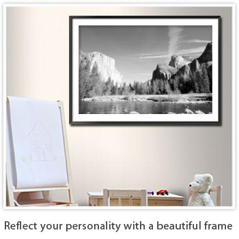 reflect your personality with a beautiful frame
